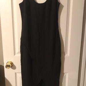 Long Black Evening Dress